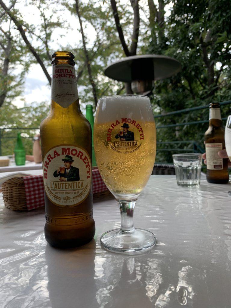 イタリアのビール、モレッティ